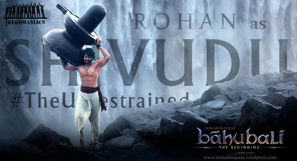 Prabhas as Sivudu in Baahubali