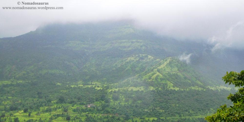 Matheran valley in monsoon
