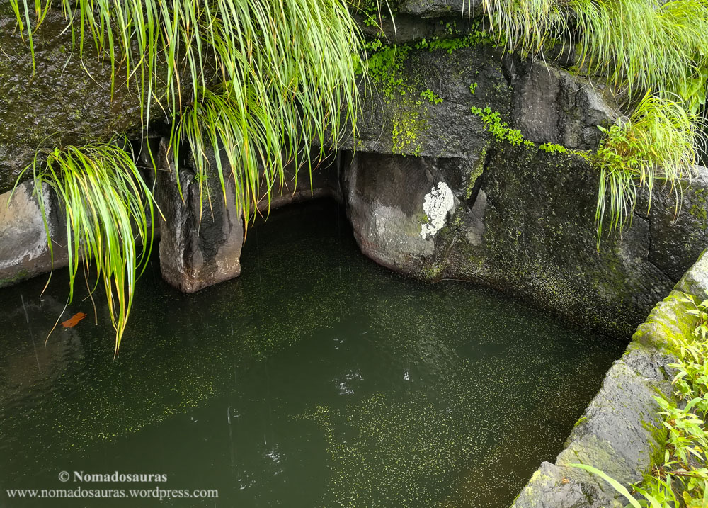 water cistern on sondai fort